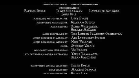 Harry Potter and the Goblet of Fire - ending credits 2 Part 4