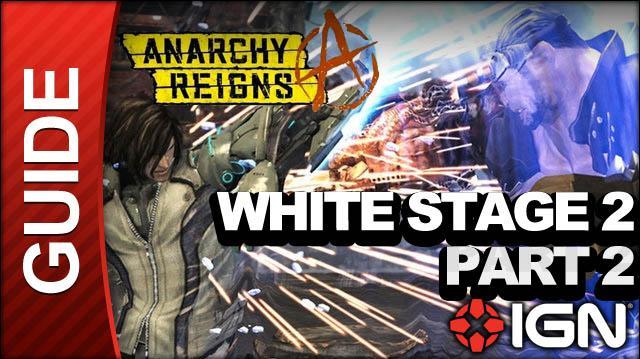 Anarchy Reigns (Max Anarchy) - White Stage 2 - Port Valenda Part 2 - Walkthrough