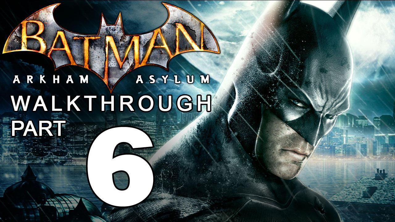 Batman Arkham Asylum Walkthrough Part 6 of 14 The Batcave