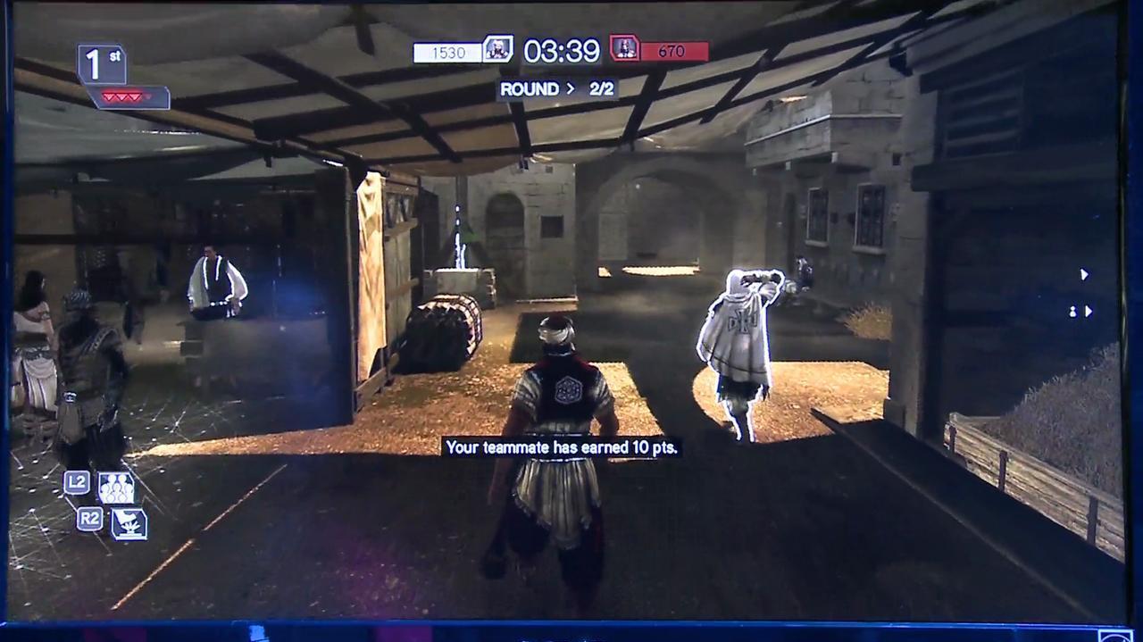 E3 2011 Assassin's Creed Revelations - Off Screen 2