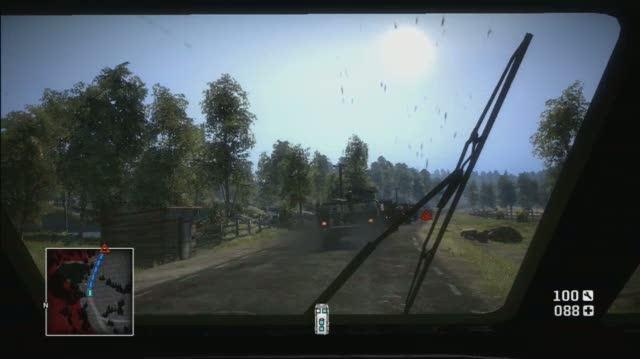 Battlefield Bad Company Xbox 360 Gameplay - Tank