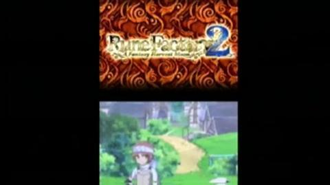 Rune Factory Two A Fantasy Harvest Moon (VG) (2008) - Trailer Intro footage