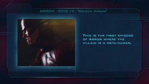 """Arrow S03E19 """"Broken Arrow"""" - Fan Brain"""