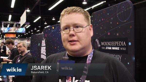 Star Wars Celebration Fan Reaction - Jsarek