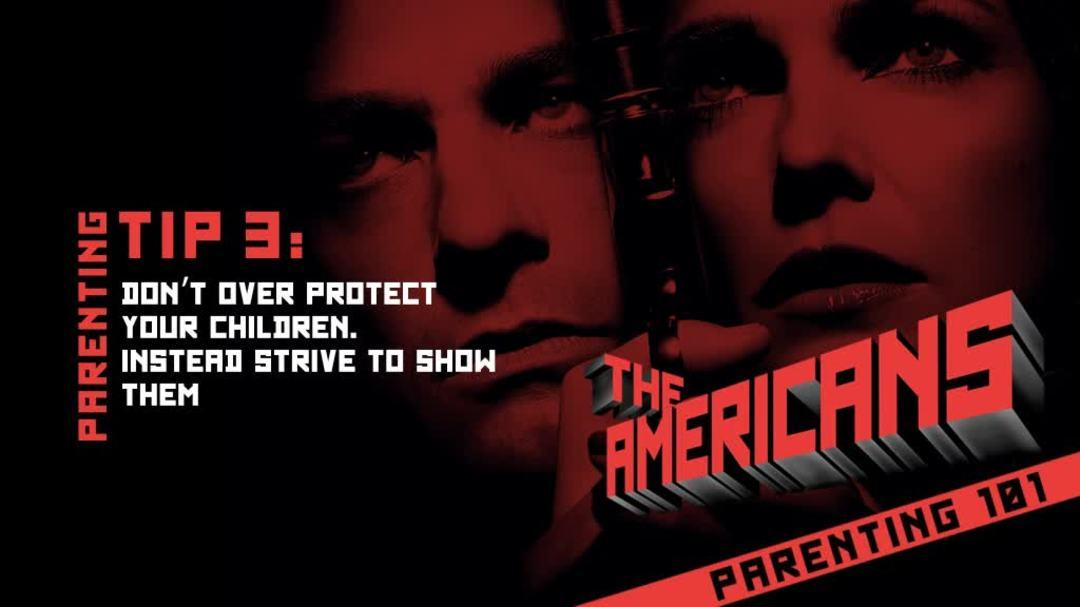 The Americans Season One Promo - Parenting 101