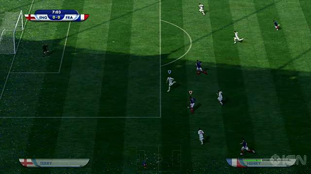 2010 FIFA World Cup South Africa Xbox 360 Gameplay - France Goal