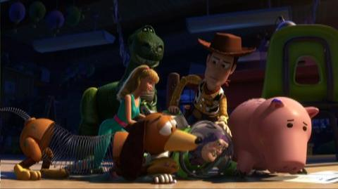 Toy Story 3 (2010) - Clip We Got to Switch Him Back