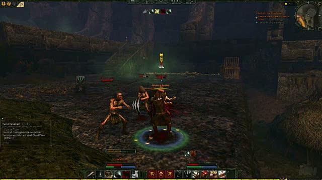 Age of Conan Hyborian Adventures PC Games Gameplay - Archeronian Ruins