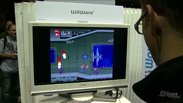 Contra ReBirth Nintendo Wii Gameplay - PAX 09 Gameplay 2 (Off-Screen)
