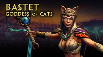 Smite God Reveal - Bastet, Goddess of Cats