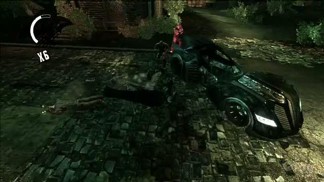 Batman Arkham Asylum PlayStation 3 Gameplay - Leave The Car Alone