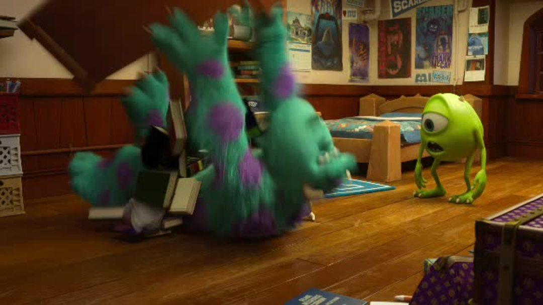 Monsters University Clip - First Contact