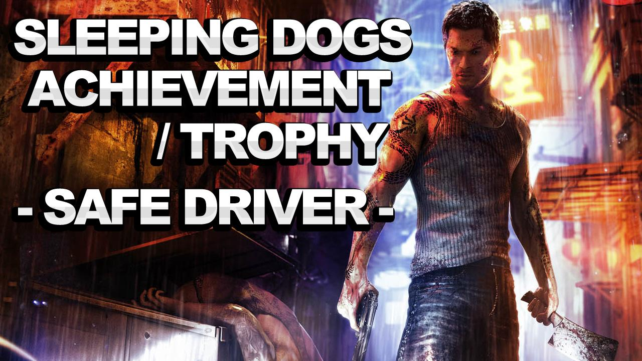 Sleeping Dogs Achievement Trophy - Safe Driver