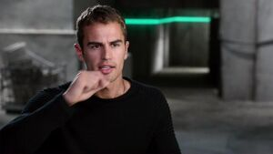 Divergent - Theo James Interview 'Four's Relationship with Tris'