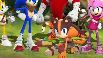 Sonic Boom - Get to Know Sticks Trailer