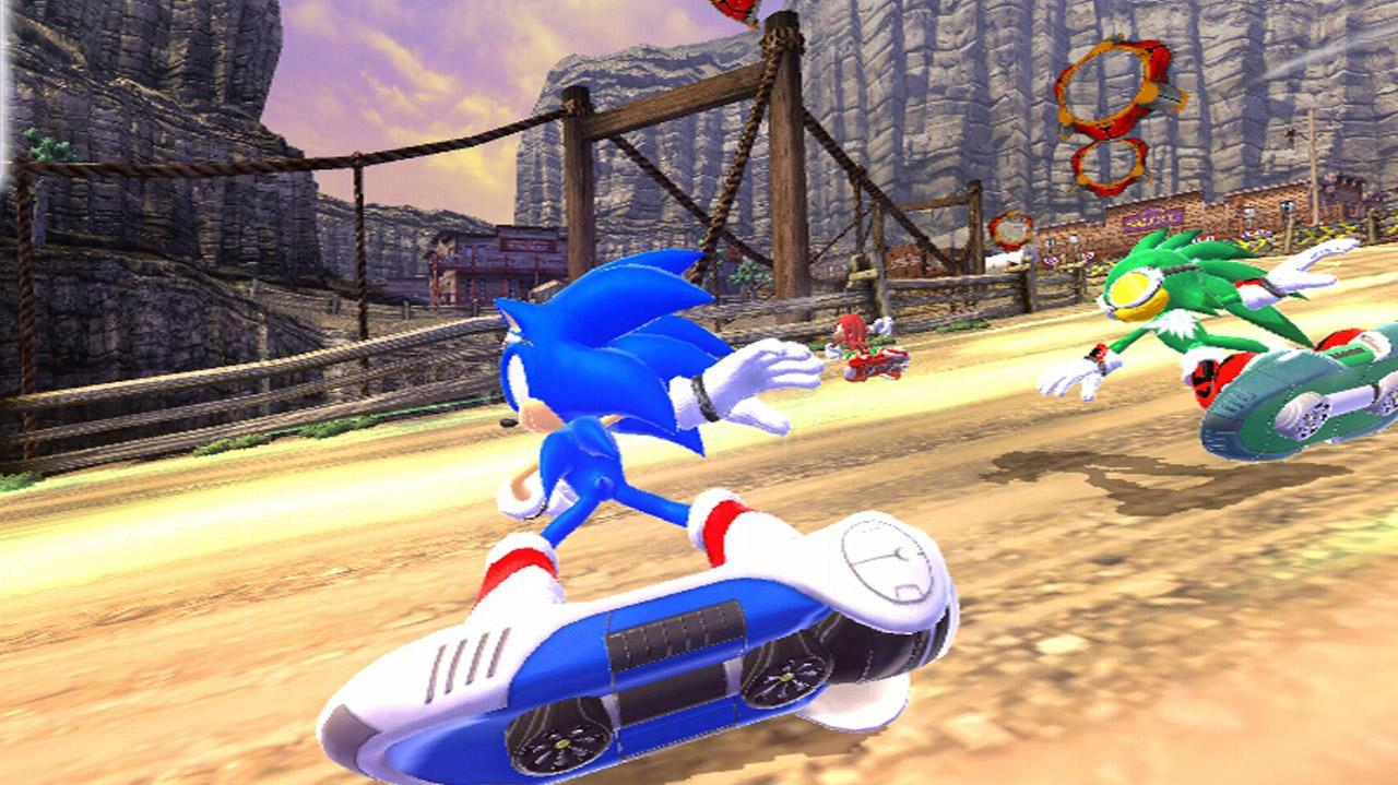 Sonic Free Riders Introduction Trailer