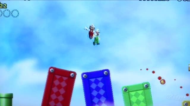 New Super Mario Bros. Wii Nintendo Wii Gameplay - Dead (Off Screen)