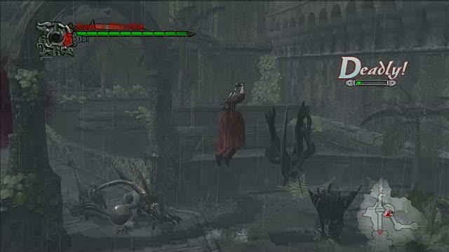 Devil May Cry 4 PlayStation 3 Gameplay - When it Rains, it Pours (HD)