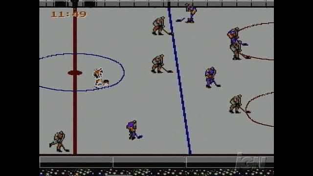 Blades of Steel Retro Game Gameplay - Score!