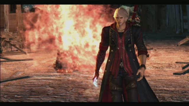 Devil May Cry 4 Xbox 360 Gameplay - He's Not So Big (HD)