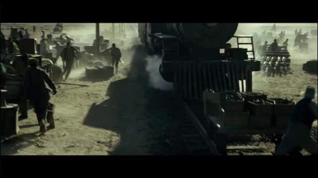 The Lone Ranger Clip - Train Wreck