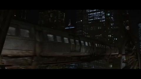 Batman Begins - Rachel in danger