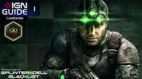 Splinter Cell Blacklist Perfectionist Walkthrough Part 1 - Blacklist Zero