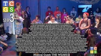 TCGS S3E3 - When Next You See Us We Will Be Standing Atop the Rubble Of The Entertainment Industry,