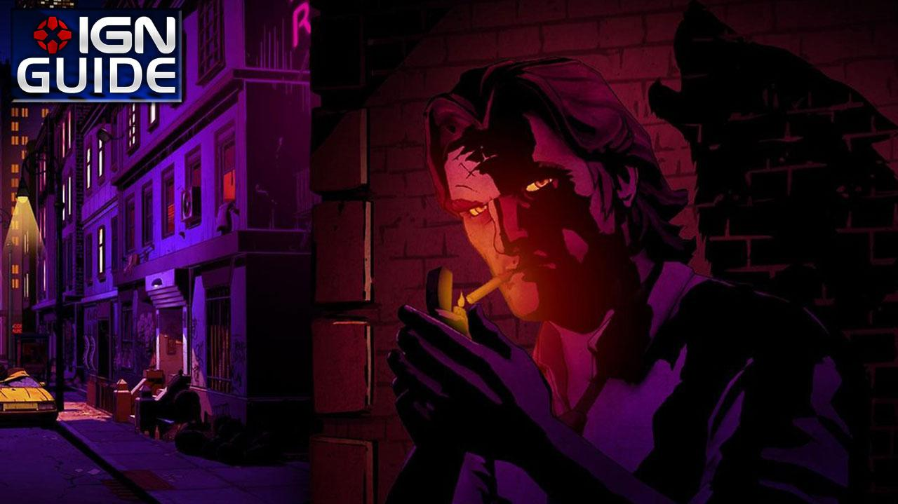 The Wolf Among Us Walkthrough - Episode 1; Chapter 02 The Woodlands