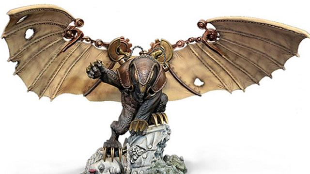 BioShock Infinite A Closer Look at the Ultimate Songbird Statue