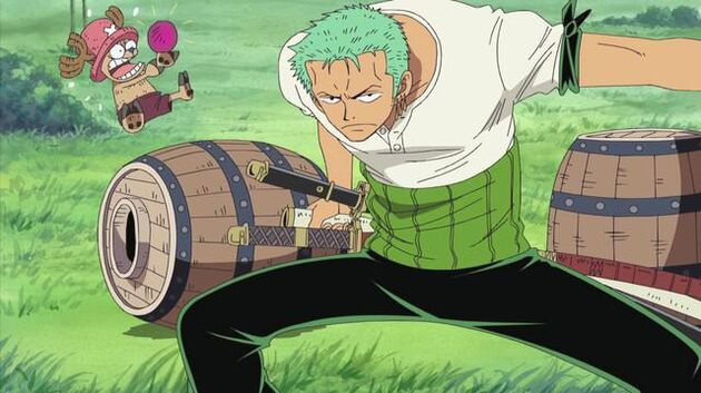 One Piece - Episode 209 - Round 1! One Lap of the Donut Race!