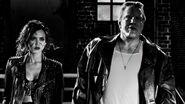 Sin City A Dame to Kill For - Nancy, Marv, & Bikers Clip