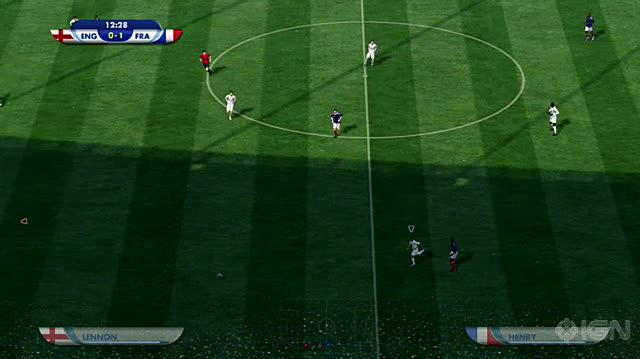 2010 FIFA World Cup South Africa Xbox 360 Gameplay - General Gameplay