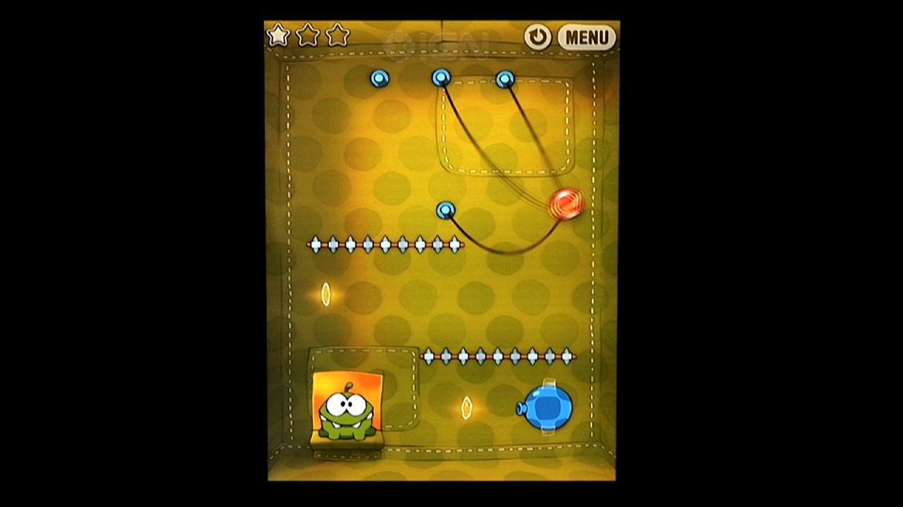 Cut the Rope How to Get All Fabric Box Stars in Cut the Rope