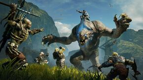 Official Shadow of Mordor Gameplay - Nemesis System Power Struggles