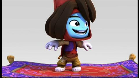 Disney Universe (VG) (2011) - Aladdin Vignette trailer