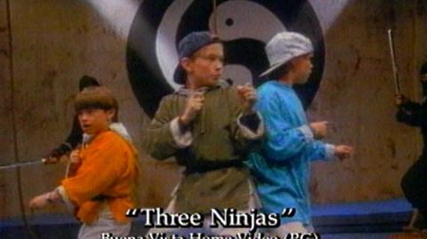 3 Ninjas (1992) - Home Video Trailer