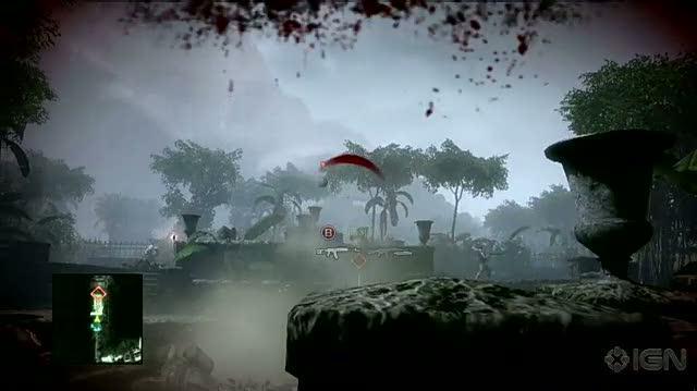 Battlefield Bad Company 2 Xbox 360 Gameplay - Explosive Combat