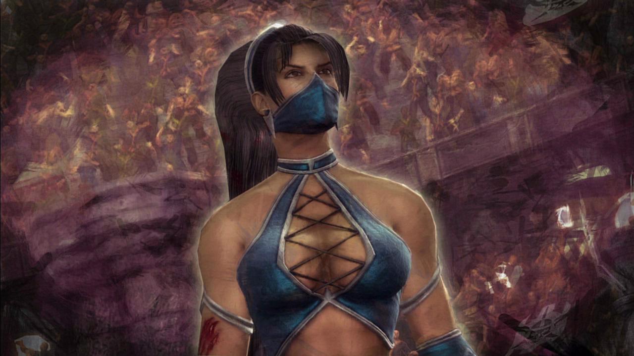 Mortal Kombat Kitana Ending