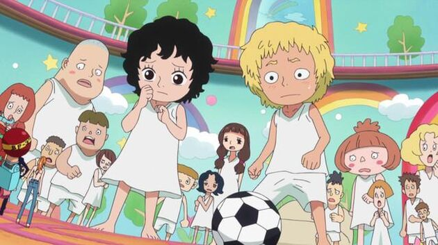 One Piece - Episode 583 - Save the Children! the Straw Hats Start to Fight!