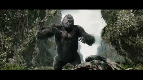 King kong - King Kong kills the T-Rex