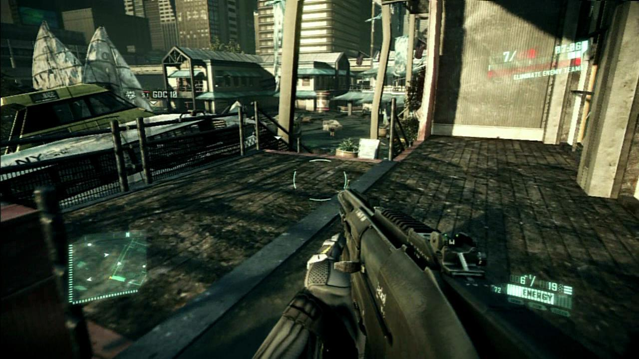 Crysis 2 Stealth and a Shotgun