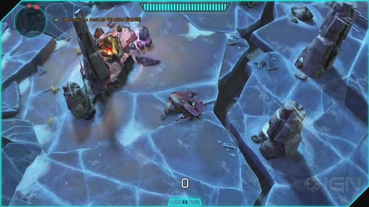 Halo Spartan Assault Walkthrough - Level A-4 (Part 4)