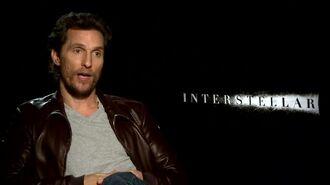 Interstellar - Mathew McConnaughey Interview