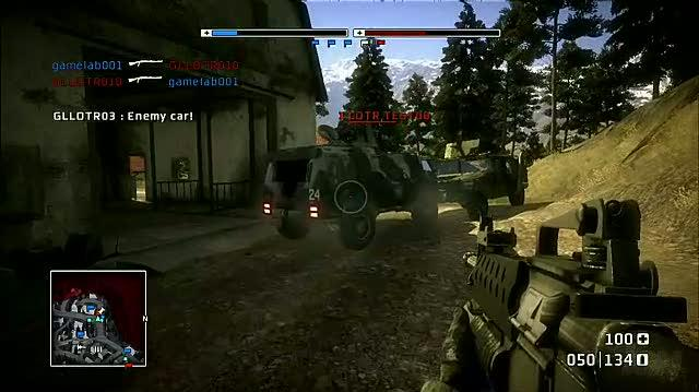 Battlefield Bad Company PlayStation 3 Gameplay - Ascension 2