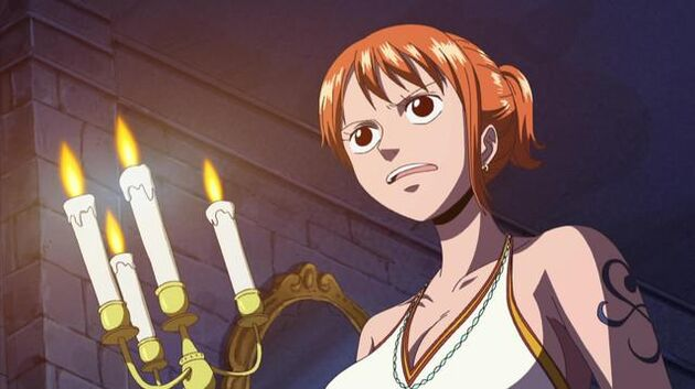 File One Piece - Episode 341 - Nami's in a Major Pinch! the Zombie Mansion and the Invisible Man
