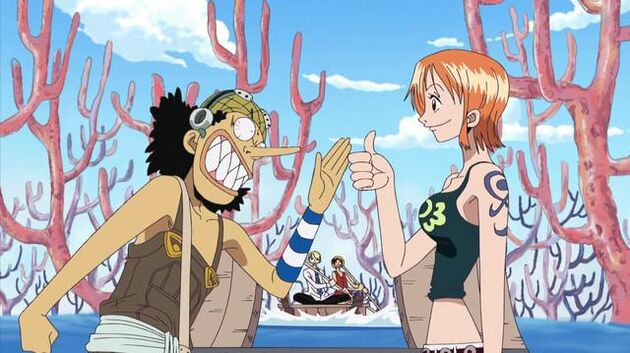 One Piece - Episode 210 - Silver Fox Foxy! the Merciless Interference!