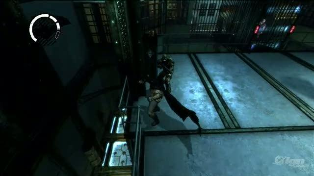 Batman Arkham Asylum PlayStation 3 Gameplay - Fighting For Her (PS3 Footage)