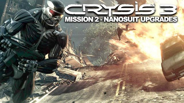 Crysis 3 Walkthrough - Mission 2 Nanosuit Upgrade Locations in Welcome to the Jungle