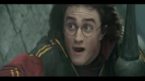 Harry Potter and the Goblet of Fire - The dragon chases Harry